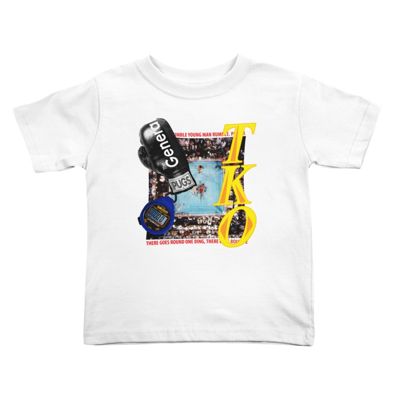 TKO Kids Toddler T-Shirt by USUWE by Pugs Atomz