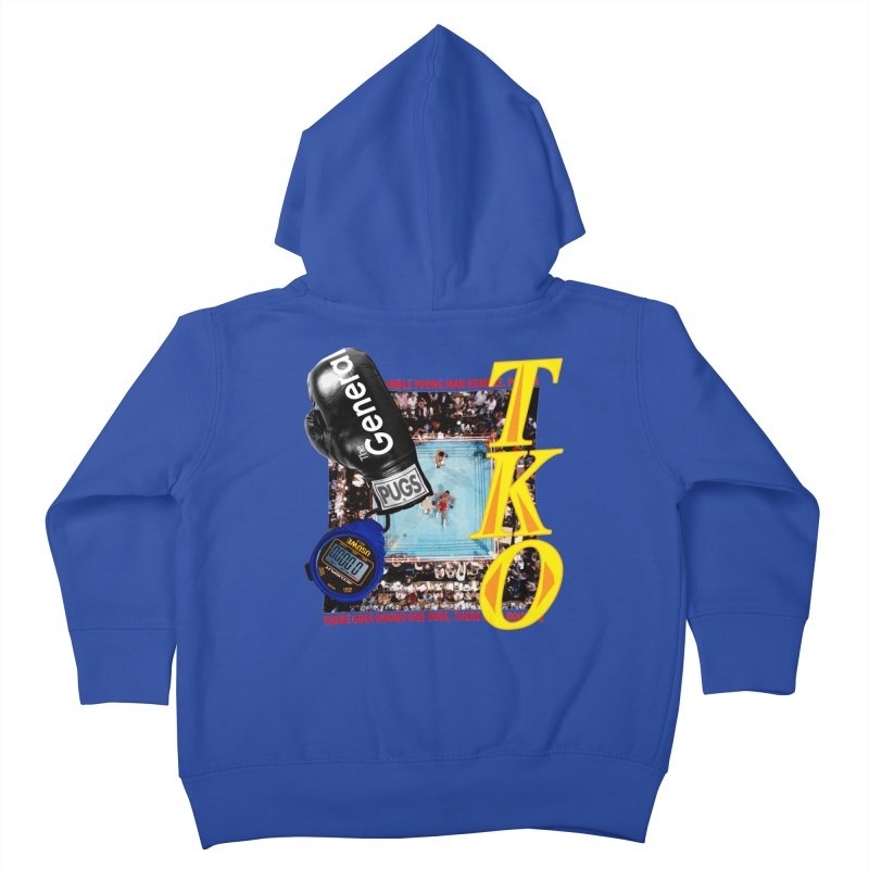 TKO Kids Toddler Zip-Up Hoody by USUWE by Pugs Atomz