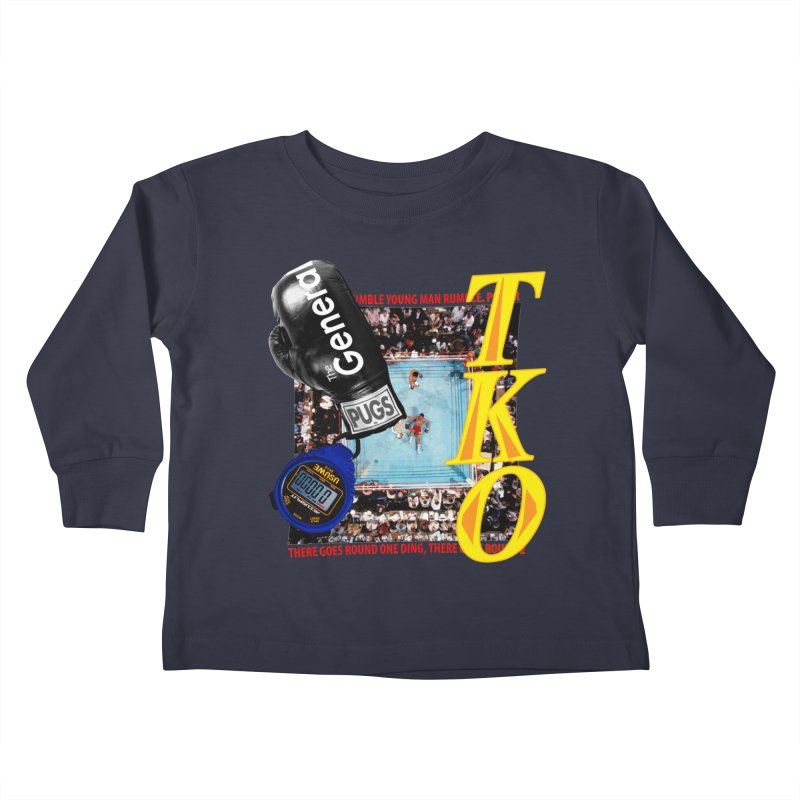 TKO Kids Toddler Longsleeve T-Shirt by USUWE by Pugs Atomz