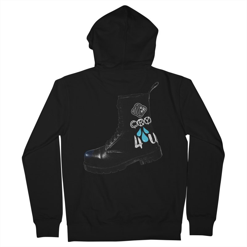 CRY 4 U Men's Zip-Up Hoody by USUWE by Pugs Atomz