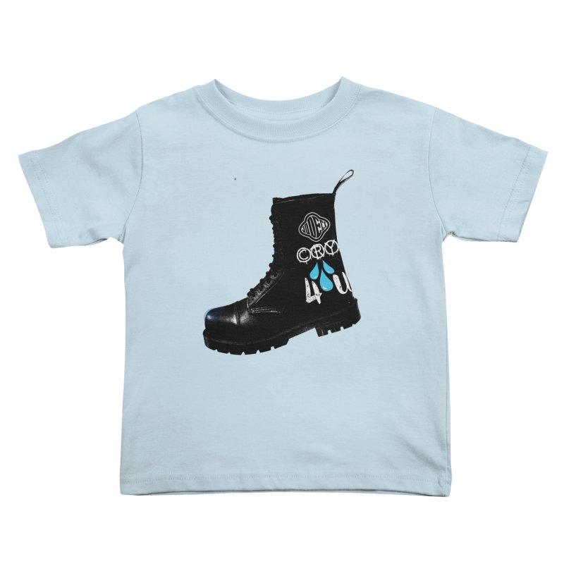 CRY 4 U Kids Toddler T-Shirt by USUWE by Pugs Atomz