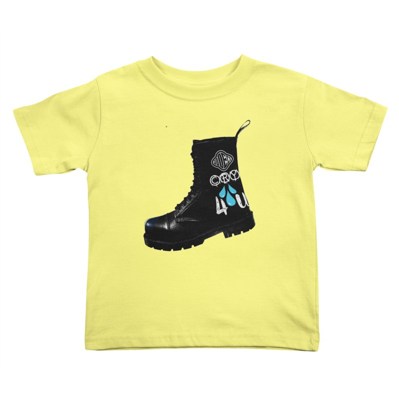 CRY 4 U Kids Toddler T-Shirt by USUWE by Pugs Atomz