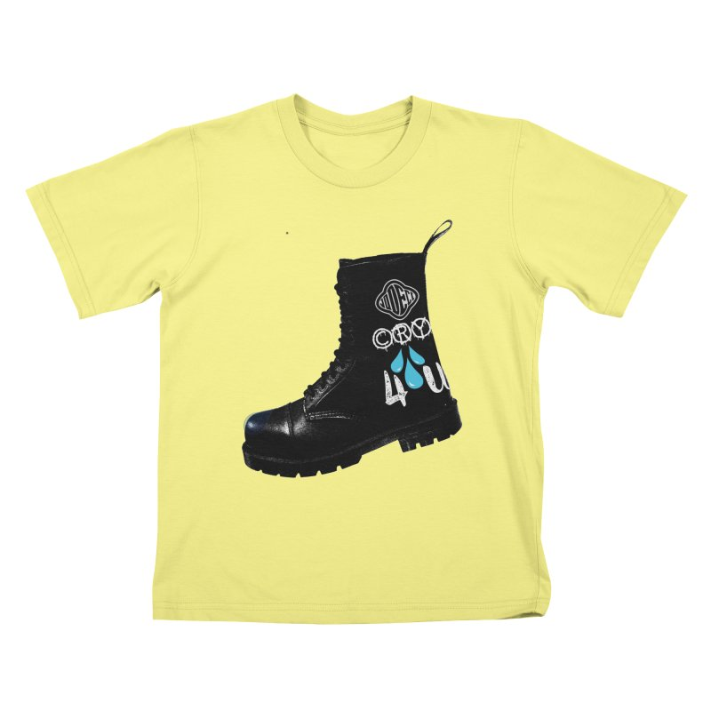 CRY 4 U Kids T-shirt by USUWE by Pugs Atomz