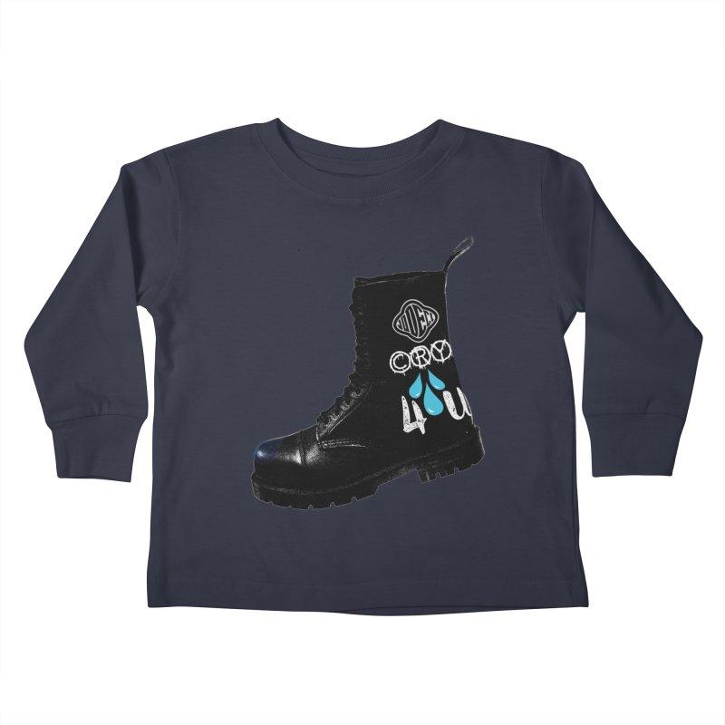 CRY 4 U Kids Toddler Longsleeve T-Shirt by USUWE by Pugs Atomz