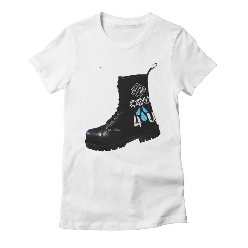CRY 4 U Women's Fitted T-Shirt by USUWE by Pugs Atomz