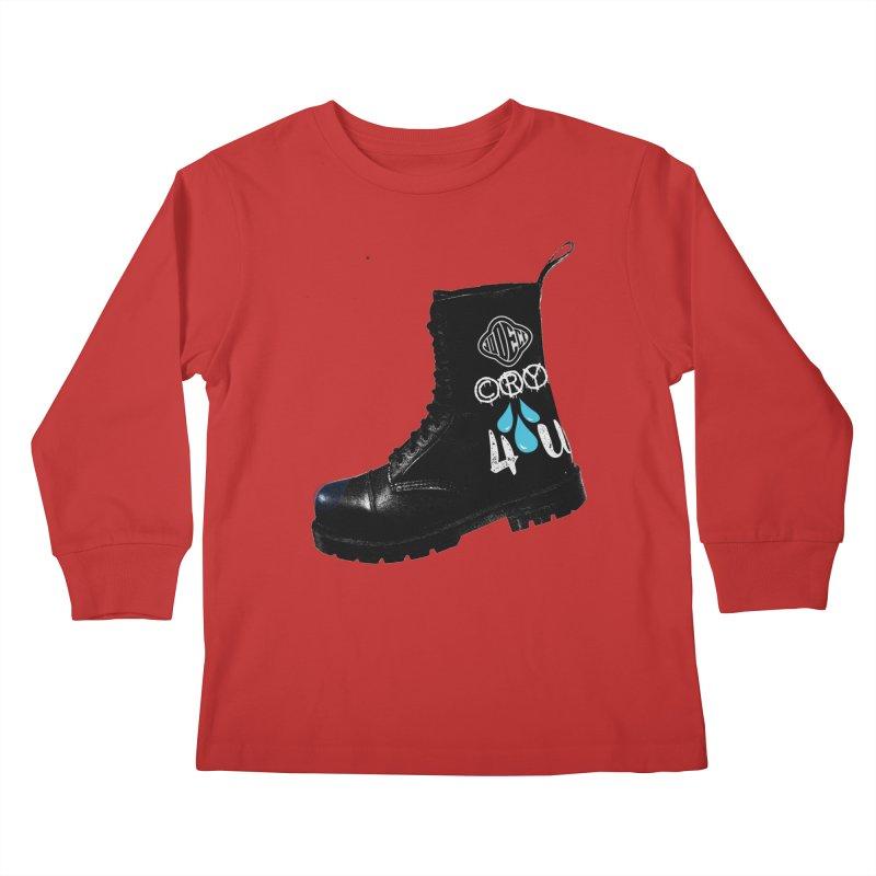 CRY 4 U Kids Longsleeve T-Shirt by USUWE by Pugs Atomz