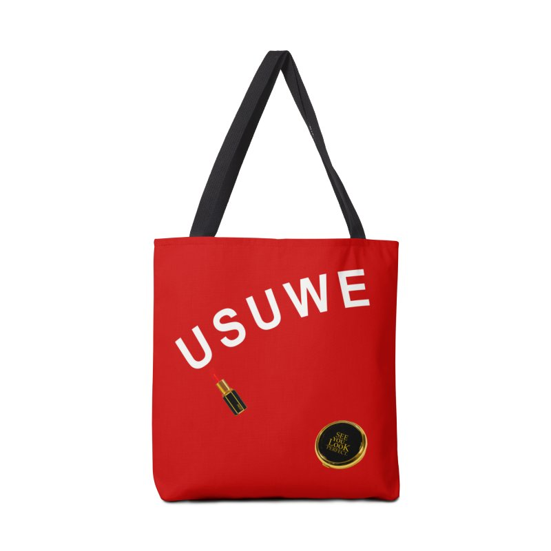 Lip Stick Accessories Tote Bag Bag by USUWE by Pugs Atomz