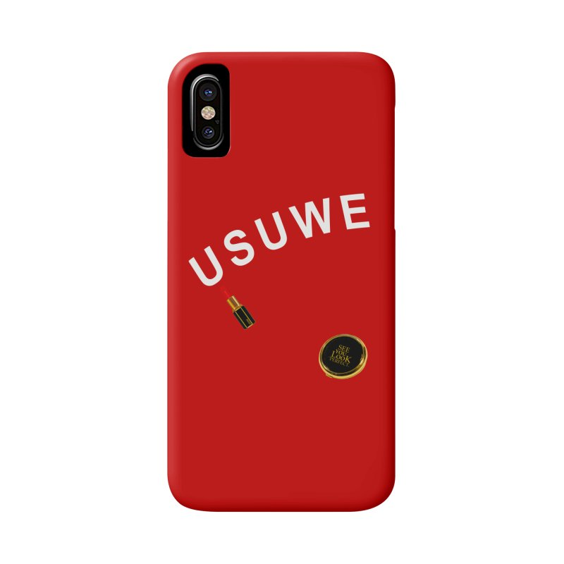 Lip Stick Accessories Phone Case by USUWE by Pugs Atomz