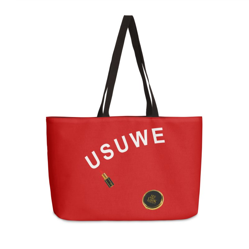 Lip Stick Accessories Weekender Bag Bag by USUWE by Pugs Atomz