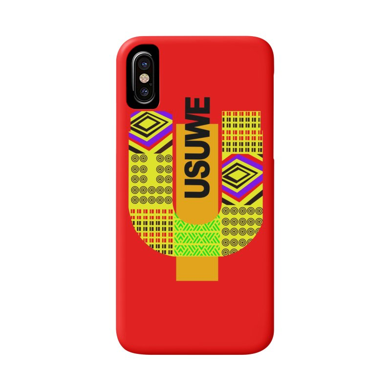 U Tribe Accessories Phone Case by USUWE by Pugs Atomz