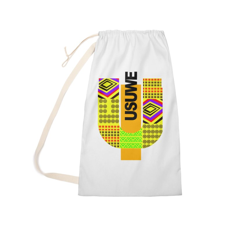 U Tribe Accessories Laundry Bag Bag by USUWE by Pugs Atomz