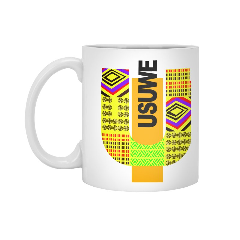 U Tribe Accessories Mug by USUWE by Pugs Atomz
