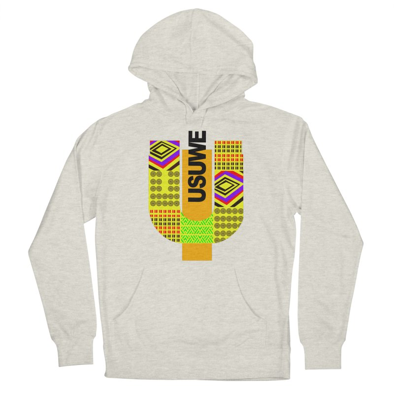 U Tribe Men's French Terry Pullover Hoody by USUWE by Pugs Atomz