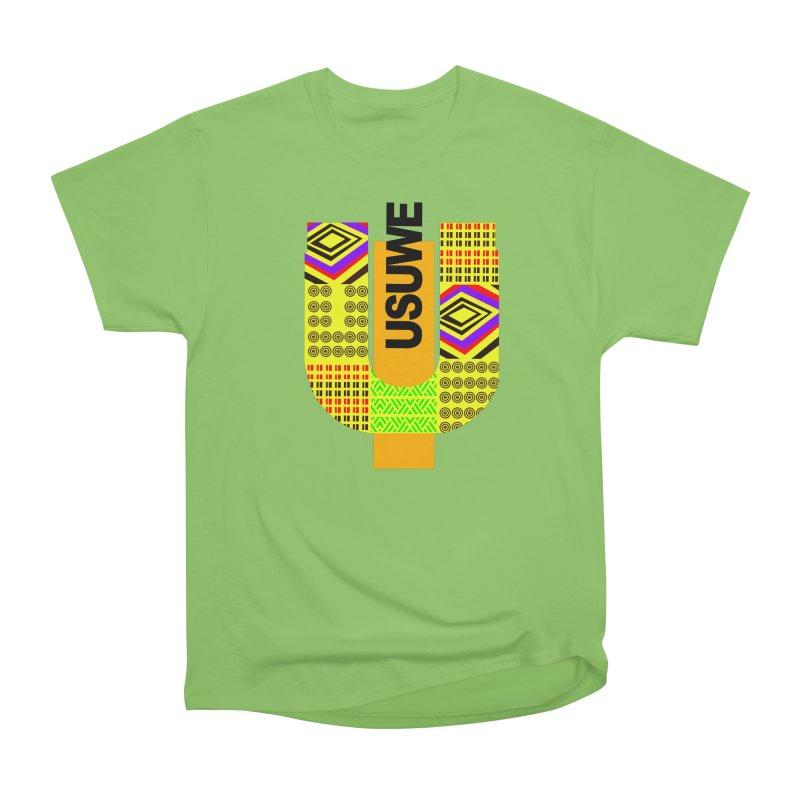 U Tribe Men's Heavyweight T-Shirt by USUWE by Pugs Atomz