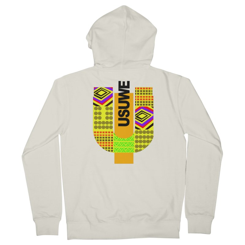 U Tribe Men's French Terry Zip-Up Hoody by USUWE by Pugs Atomz