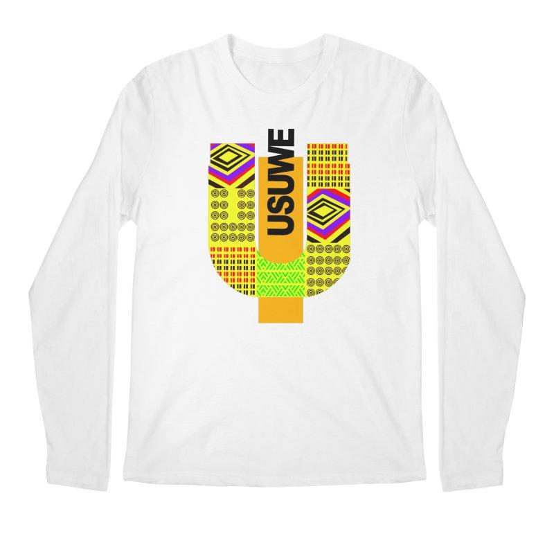 U Tribe Men's Regular Longsleeve T-Shirt by USUWE by Pugs Atomz
