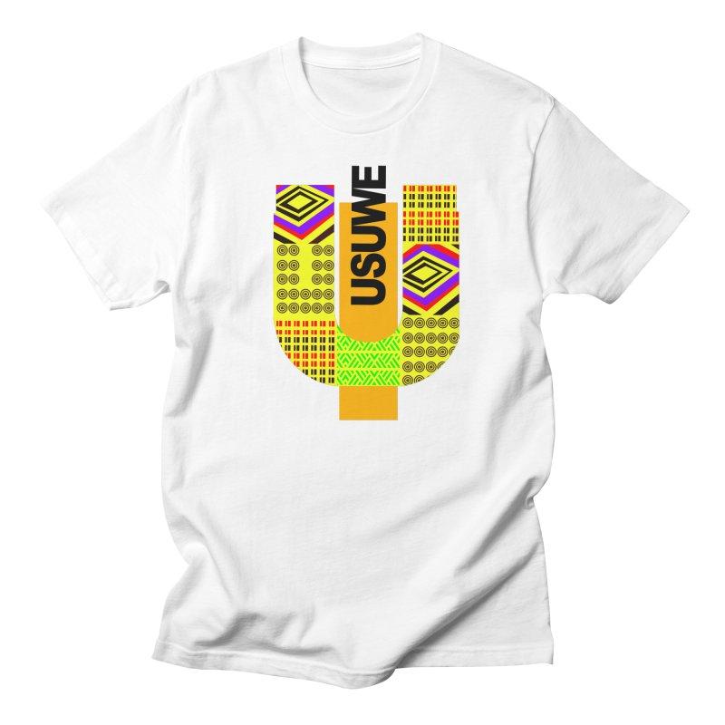 U Tribe Men's Regular T-Shirt by USUWE by Pugs Atomz