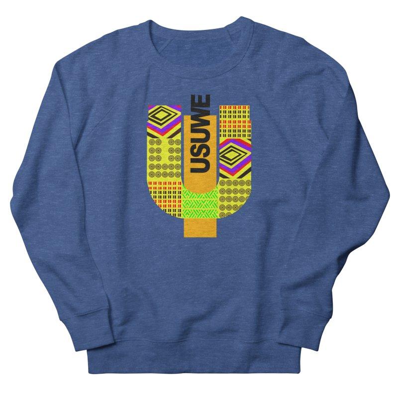 U Tribe Men's French Terry Sweatshirt by USUWE by Pugs Atomz