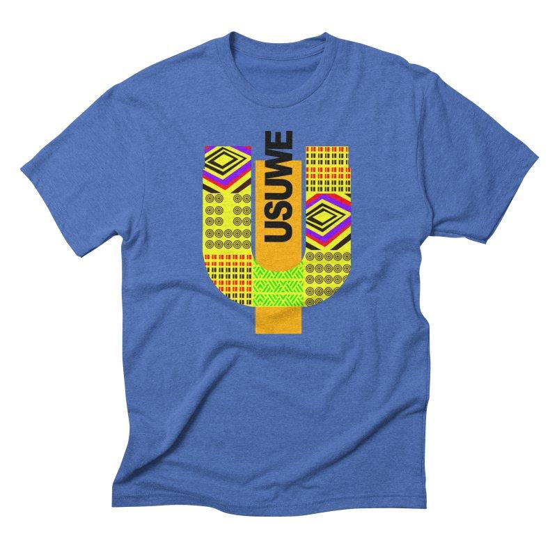U Tribe Men's Triblend T-Shirt by USUWE by Pugs Atomz
