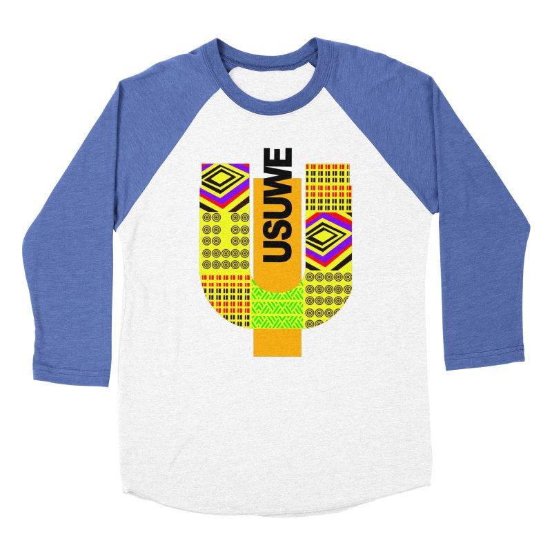 U Tribe Men's Baseball Triblend T-Shirt by USUWE by Pugs Atomz