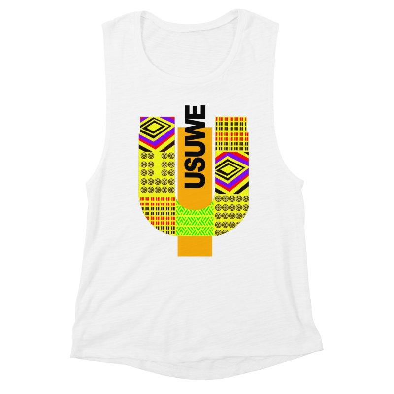 U Tribe Women's Muscle Tank by USUWE by Pugs Atomz