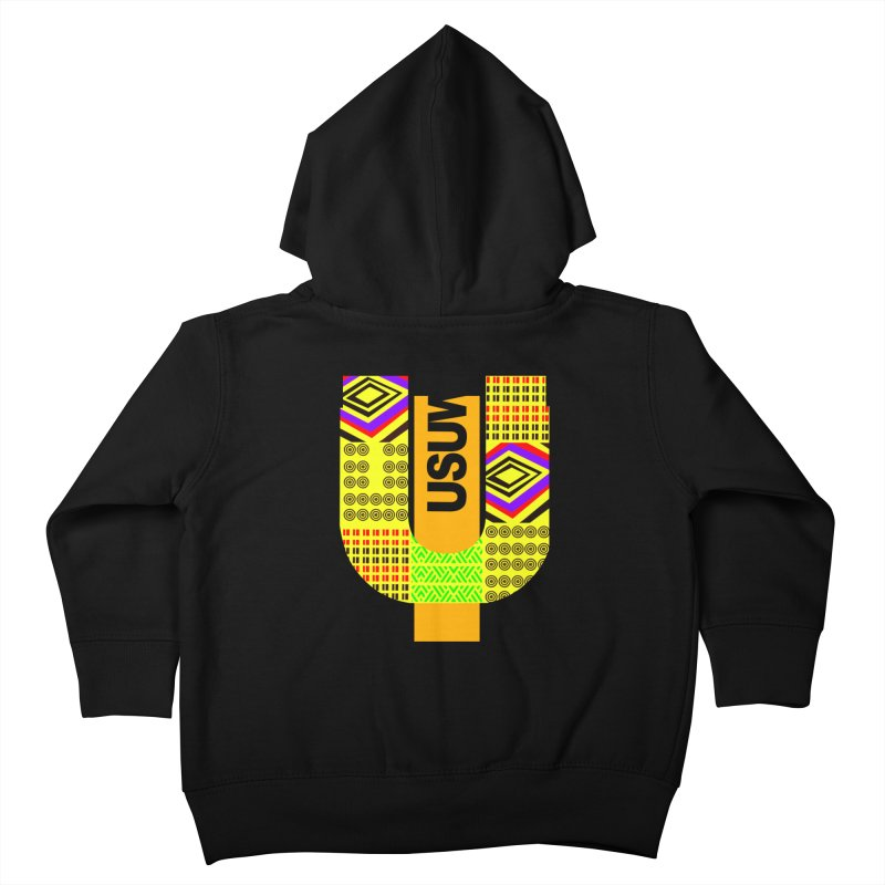 U Tribe Kids Toddler Zip-Up Hoody by USUWE by Pugs Atomz