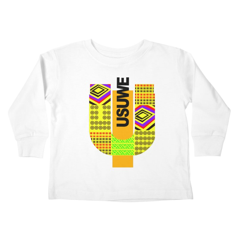 U Tribe Kids Toddler Longsleeve T-Shirt by USUWE by Pugs Atomz
