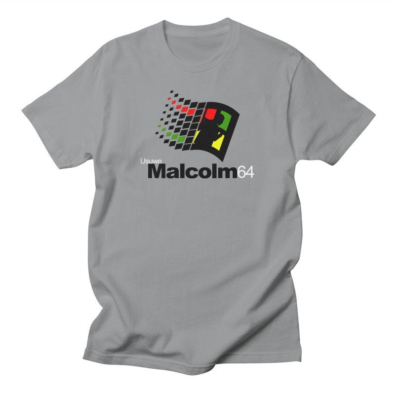 Windows 64 in Men's Regular T-Shirt Slate by USUWE by Pugs Atomz