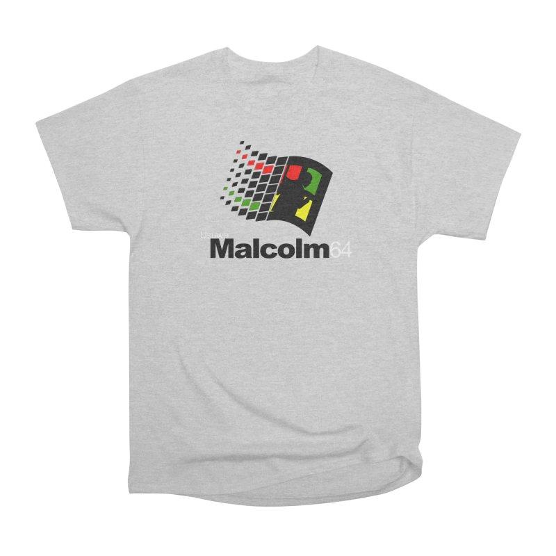 Windows 64 Men's Heavyweight T-Shirt by USUWE by Pugs Atomz