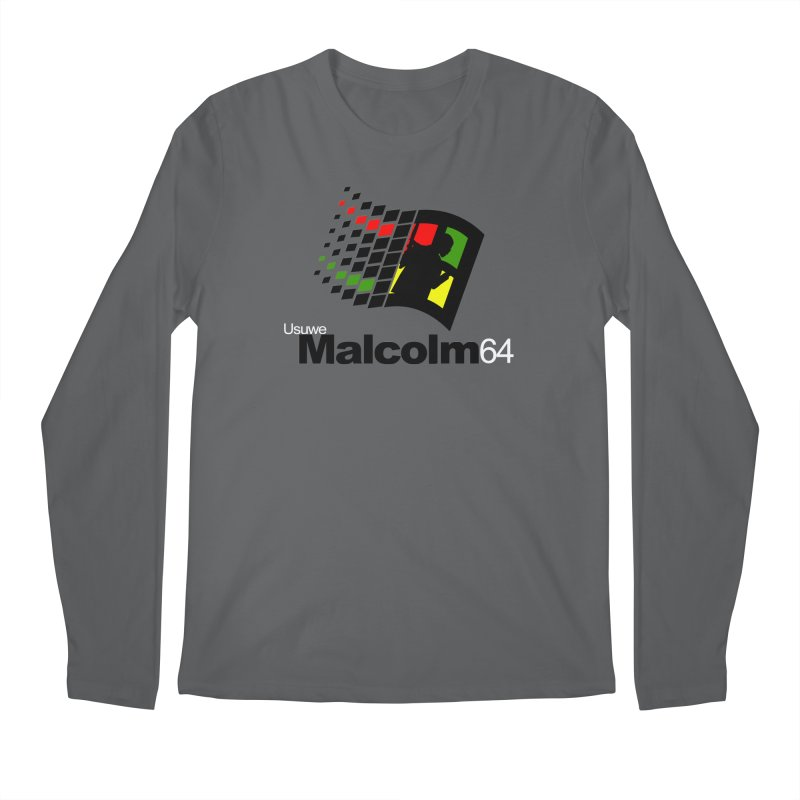 Windows 64 Men's Regular Longsleeve T-Shirt by USUWE by Pugs Atomz