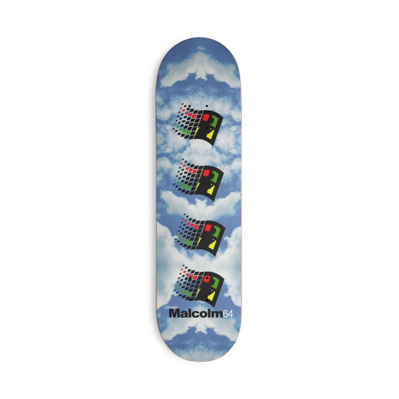 Windows 64 Accessories Skateboard by USUWE by Pugs Atomz