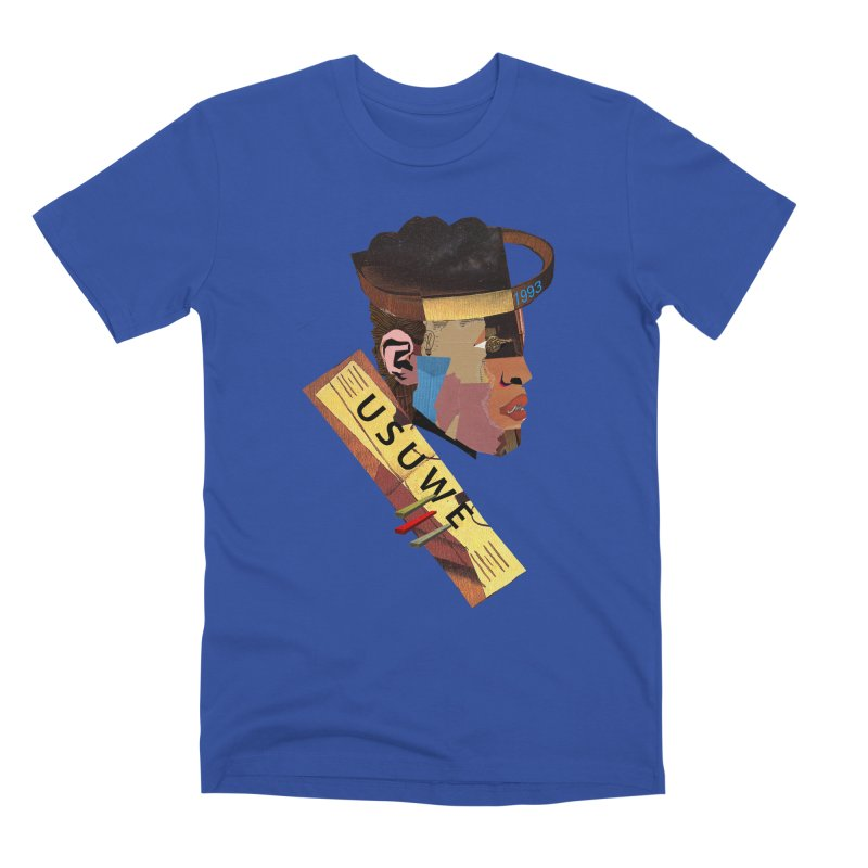 Statue Men's Premium T-Shirt by USUWE by Pugs Atomz