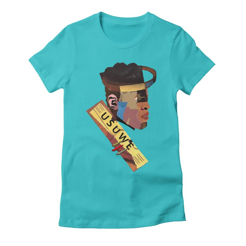 Statue T Women's Fitted T-Shirt by USUWE by Pugs Atomz