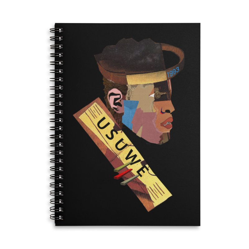 Statue T Accessories Notebook by USUWE by Pugs Atomz