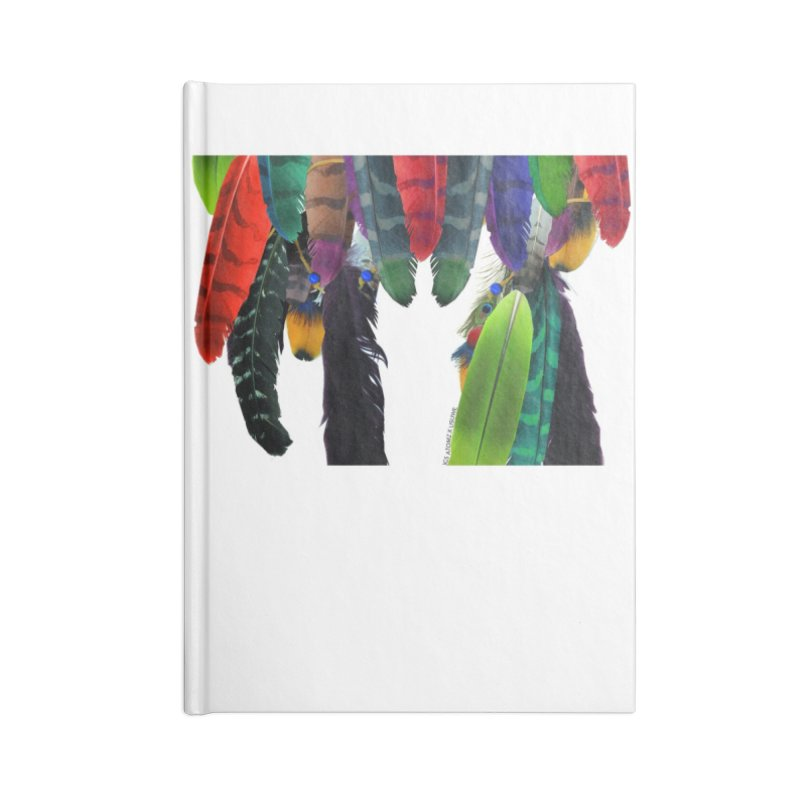 Feather Catcher Accessories Blank Journal Notebook by USUWE by Pugs Atomz