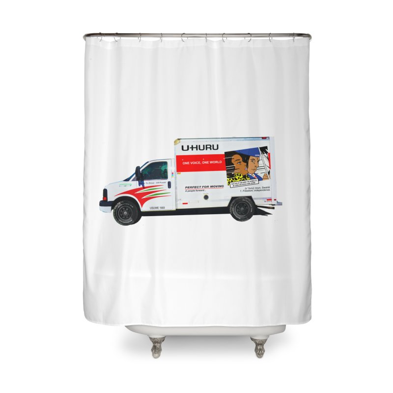 Freedom Home Shower Curtain by USUWE by Pugs Atomz