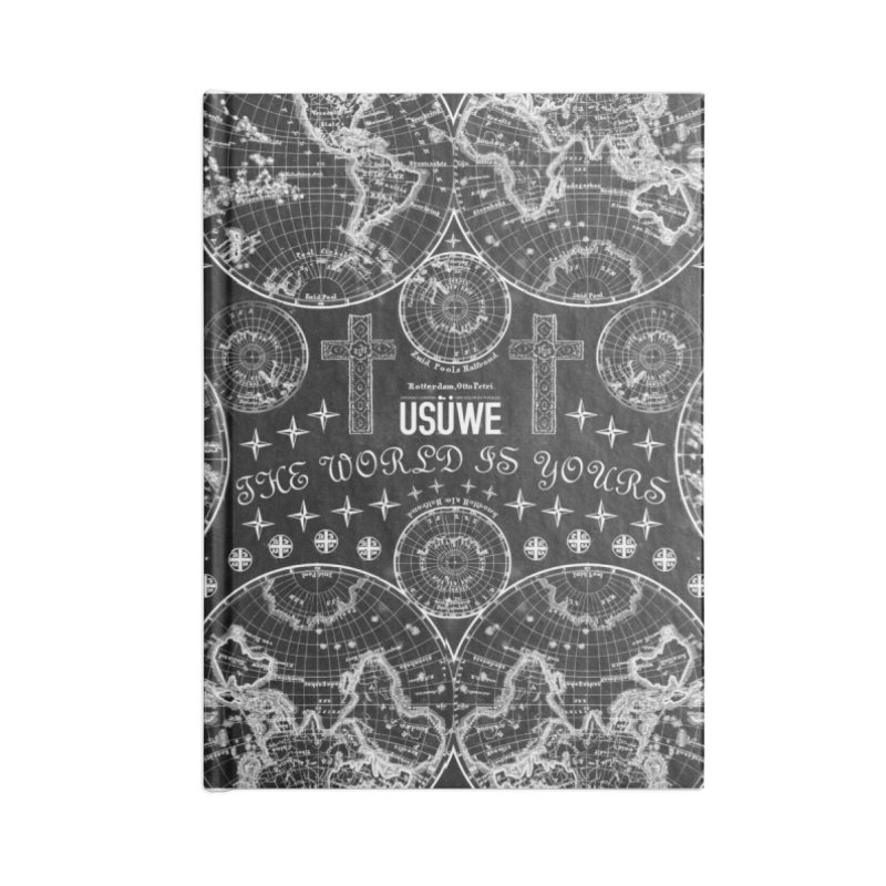 The world is yours Accessories Blank Journal Notebook by USUWE by Pugs Atomz