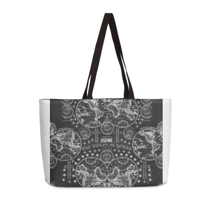 The world is yours Accessories Weekender Bag Bag by USUWE by Pugs Atomz