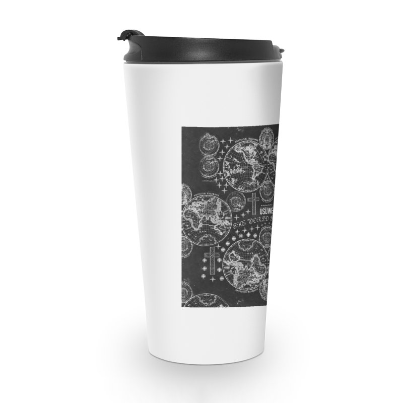 The world is yours Accessories Travel Mug by USUWE by Pugs Atomz