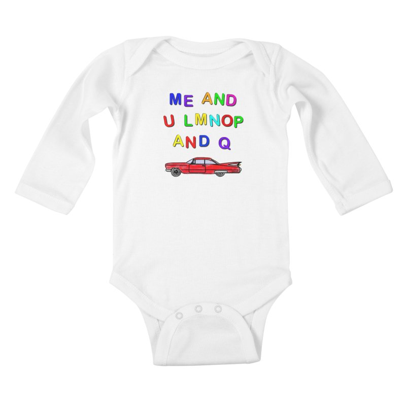 Me and U Kids Baby Longsleeve Bodysuit by USUWE by Pugs Atomz