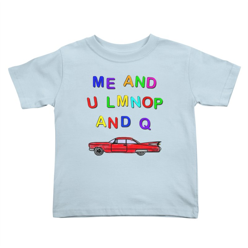 Me and U Kids Toddler T-Shirt by USUWE by Pugs Atomz