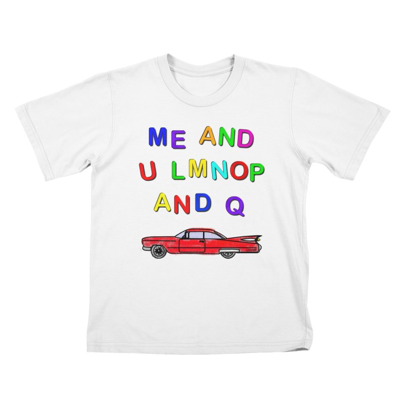 Me and U Kids T-shirt by USUWE by Pugs Atomz
