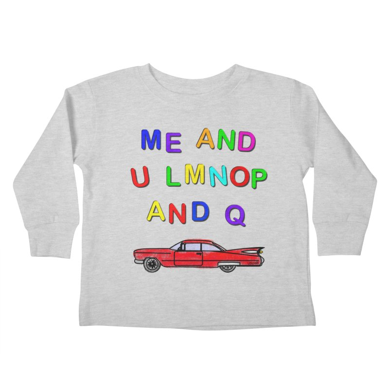 Me and U Kids Toddler Longsleeve T-Shirt by USUWE by Pugs Atomz