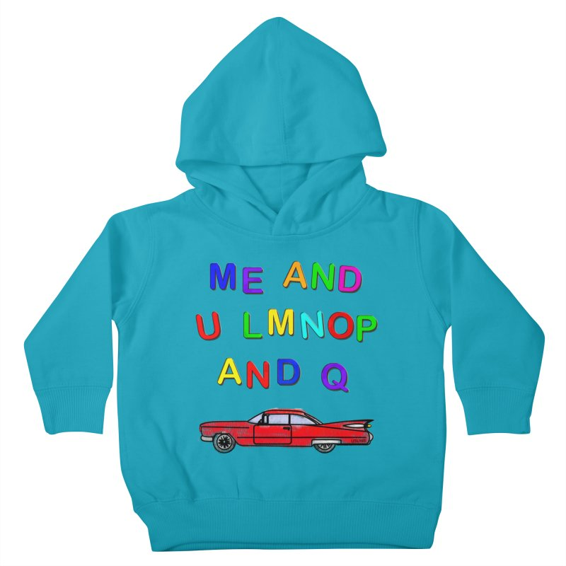 Me and U Kids Toddler Pullover Hoody by USUWE by Pugs Atomz