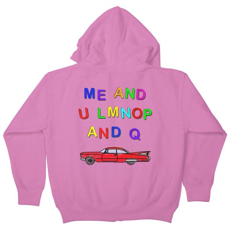 Me and U Kids Zip-Up Hoody by USUWE by Pugs Atomz