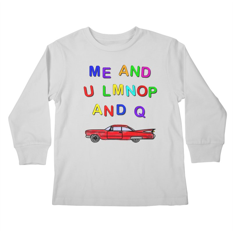 Me and U Kids Longsleeve T-Shirt by USUWE by Pugs Atomz