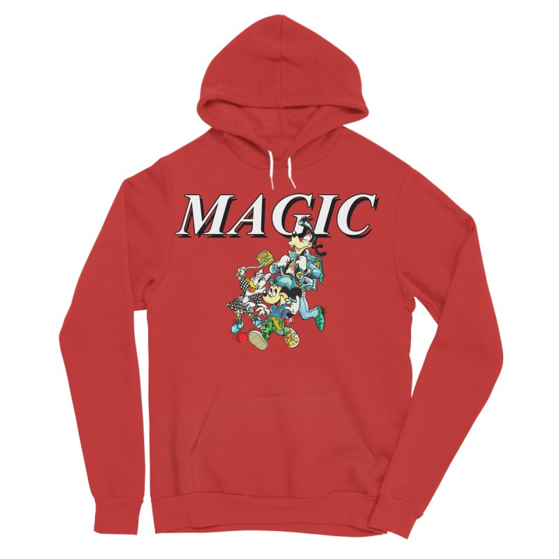 Magic Men's Sponge Fleece Pullover Hoody by USUWE by Pugs Atomz
