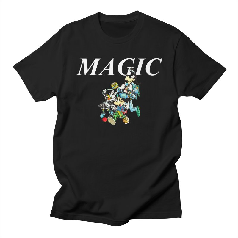 Magic Men's Regular T-Shirt by USUWE by Pugs Atomz