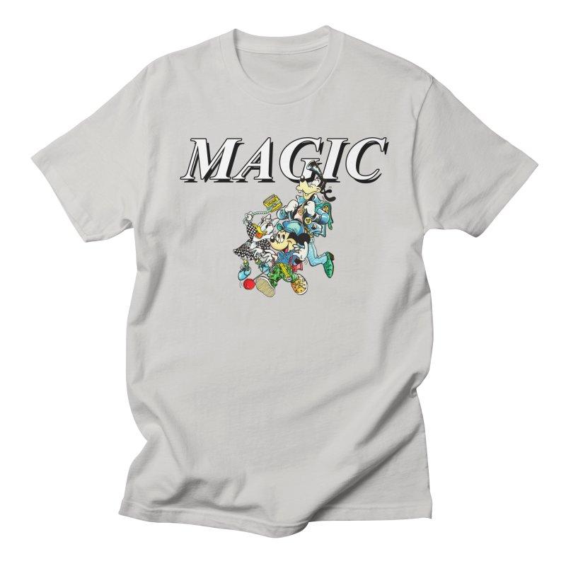 Magic Women's Regular Unisex T-Shirt by USUWE by Pugs Atomz