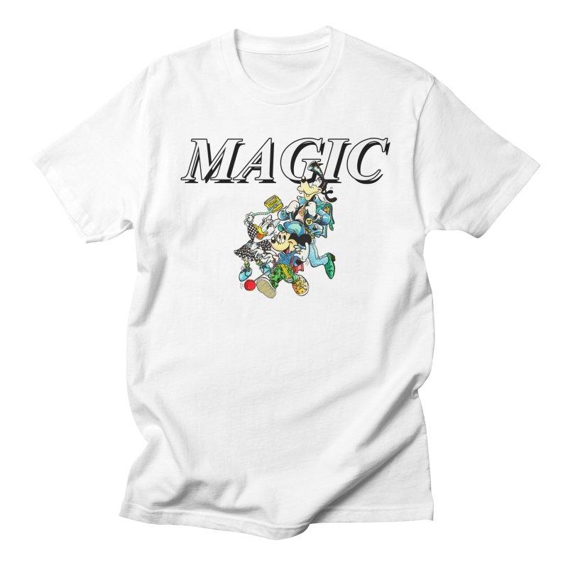 Magic Women's Unisex T-Shirt by USUWE by Pugs Atomz